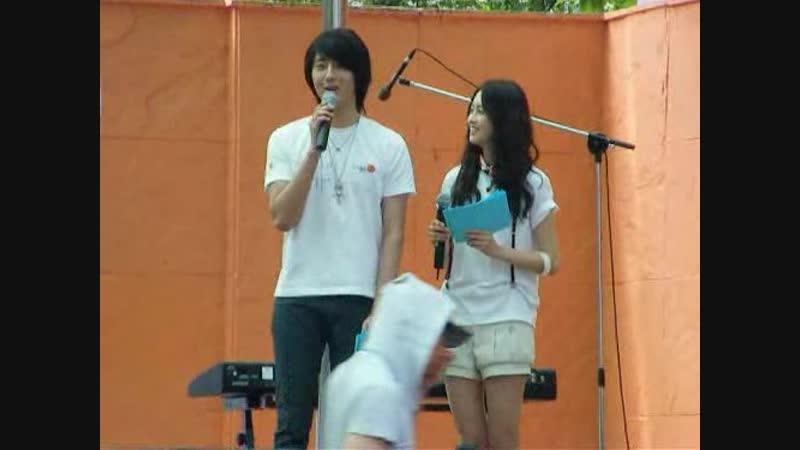 정일우-아라 제16회 젊은 연극제 사회(080621)