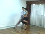 Javier Rodriguez y Geraldine Rojas - Tango Salon Lesson