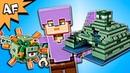 Lego Minecraft OCEAN MONUMENT 21136 Animation Speed Build