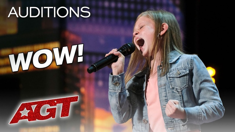 Woah! Simon Cowell Has Ansley Burns Sing Aretha Twice, She Nails It! - Americas Got Talent 2019
