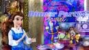 ОБЗОР сетов Disney Princess Belle Dinner Party Playset Snow White Dance Party Playset