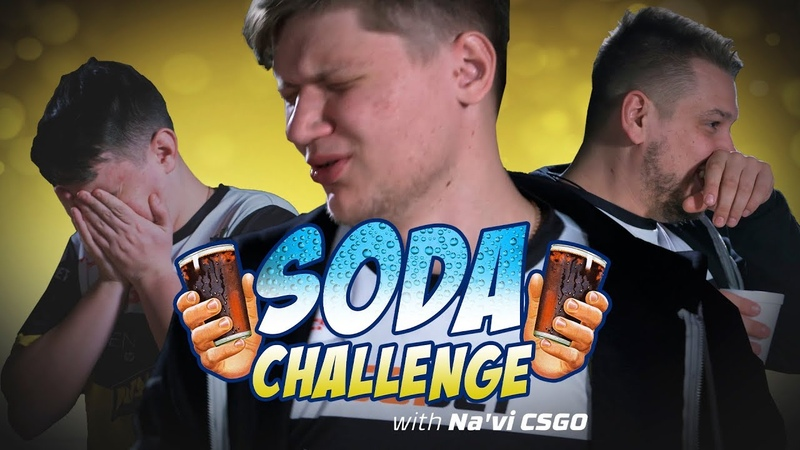 Team NaVi CS GO The Soda Challenge HyperX Moments