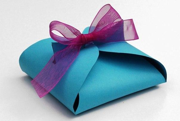 Упаковка маленьких подарков своими руками