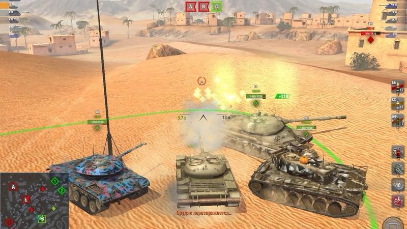 World of Tanks Blitz Марафон