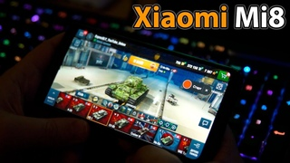 Xiaomi mi8 🎲 тест World of Tanks blitz на высоких настройках графики