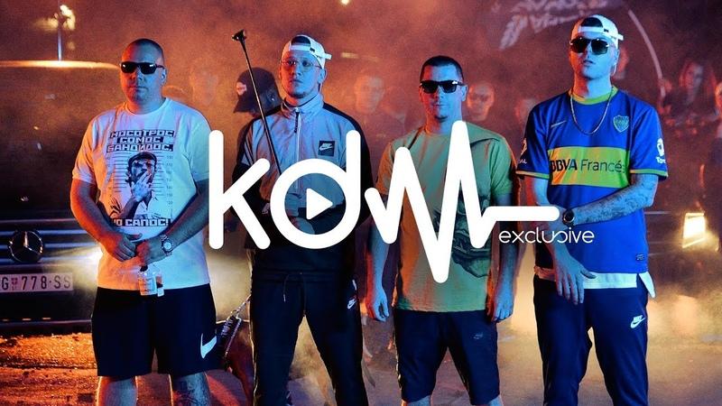 CORONA X RIMSKI FEAT. THCF - ULICE SAM LJUBIO (OFFICIAL VIDEO) 4K