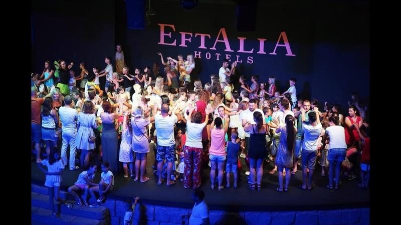 Ночные развлечения в Eftalia Ocean Eftalia Island ночью Все про ЭФТАЛИЯ Оушен Отдых в Турции