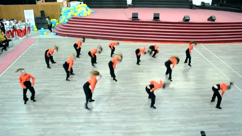 Хіп хоп команда Cheer Mix Team 9 12р FORMA Коростень