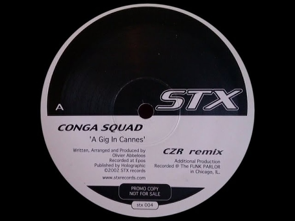 Conga Squad - A Gig In Cannes