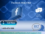 1-855-479-1999 Facebook Help Chat-instant way to overcome technical issues