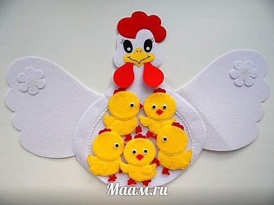 Цыплята из ткани своими руками