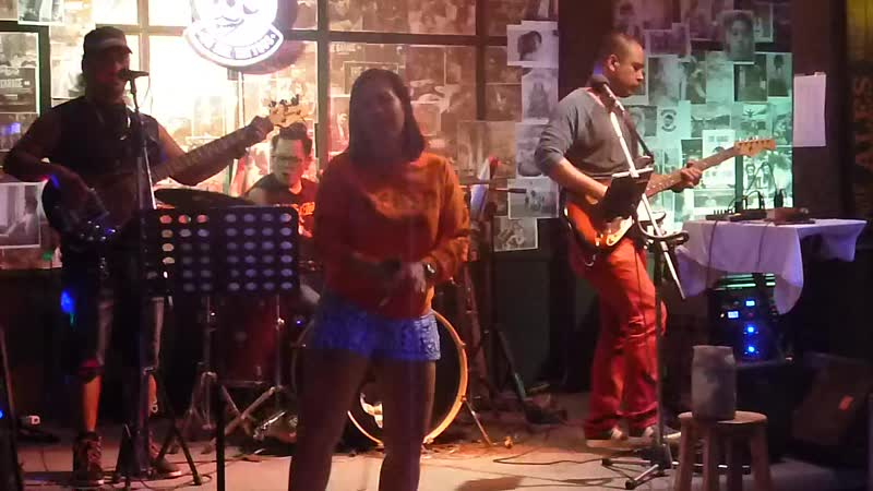 Я свободен - КипеловМаврин Cover (Live in GARAGE-club, Karon beach, Thailand 4.12.2018)
