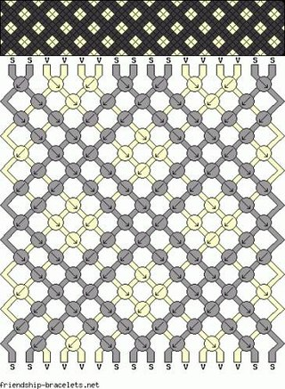 Самые простые фенечки из бисера.
