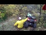 Аварии на квадроциклах закончившиеся более или менее удачно.