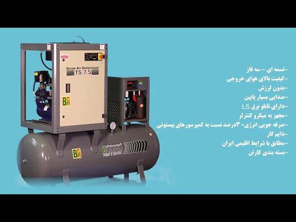 Compressor Screw TS - FF 5.5