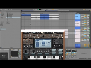 Ableton Live 10 - Streaming Techno Producing (Part 1)