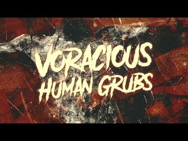 HOLLOW PROPHET - VORACIOUS HUMAN GRUBS [OFFICIAL LYRIC VIDEO] (2018) SW EXCLUSIVE