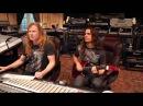 Kiko Loureiro tocando música improvisada MegadetH