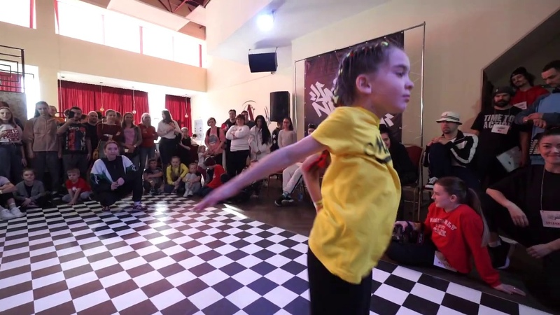 Hype (Ufa) vs Valeeva Ajna (Chelyabinsk) | Final. Hip-Hop little one 1x1