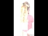Причёска высокий хвост