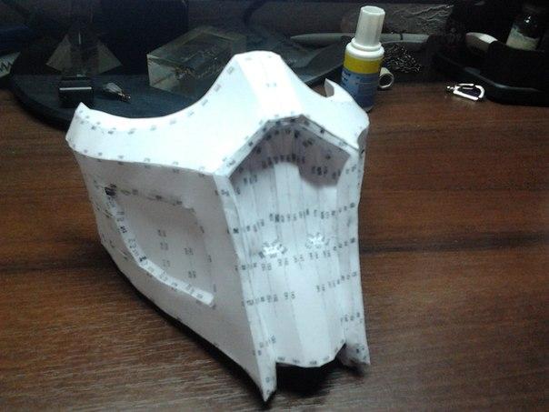 Маска саб зиро из бумаги
