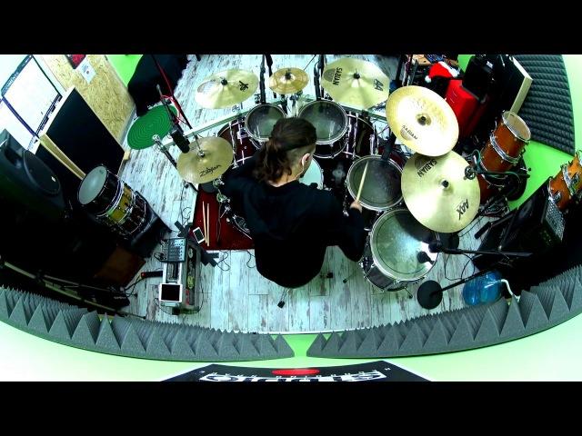 Nikitas Mandolas [WEB, Manhattan Project] - O Father O Satan O Sun! (Behemoth drum cover)