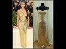 Моя попытка сделать копию на платье от Versace для Kim Kardashian