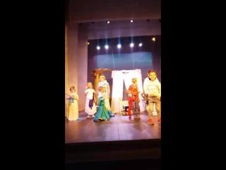 Участие и показ спектакля «Одиссей и Пенелопа». Ночь музеев 2018 г.