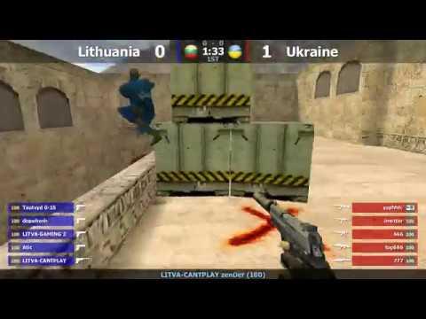 Финал турнира по CS 1.6 команды Golden Team [Lithuania -vs- Ukraine] @ by kn1fe