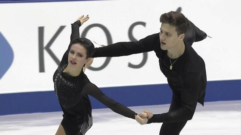 Наталья Забияко и Александр Энберт победители NHK Trophy в Японии Произвольная программа Пары