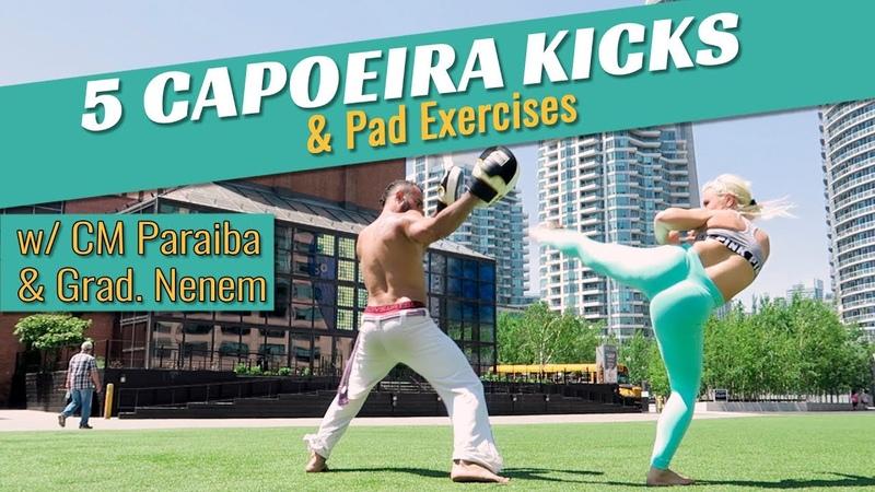 5 Capoeira kicks Pad Work - Axe Capoeira Toronto