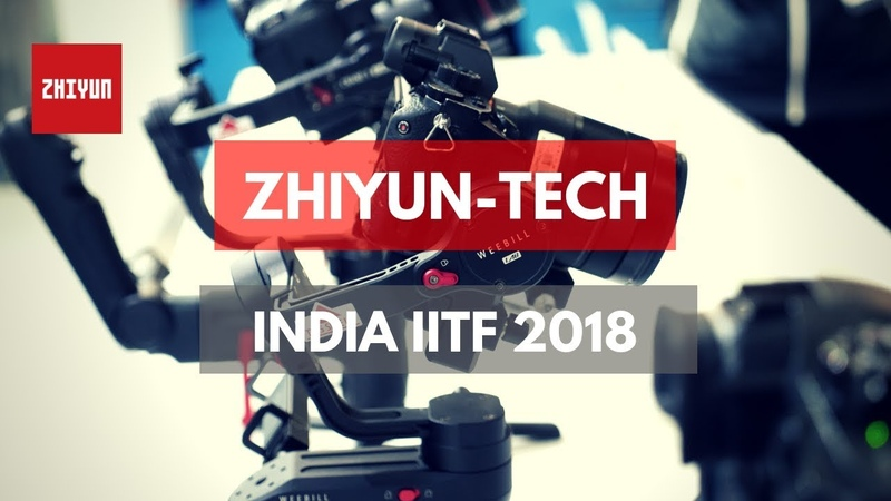 Zhiyun Weebill LAB And Crane 3 LAB Gimbals In India IITF2018