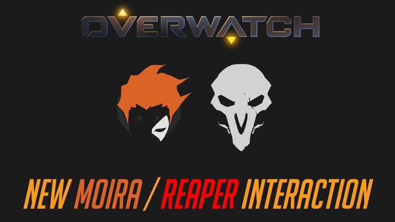 Overwatch - New Moira / Reaper Interaction