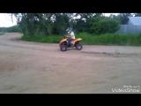 По катушки на питбайке и на квадроцикле!)