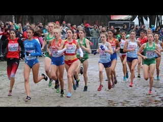 U20 Women's Race at European XC Championships 2018