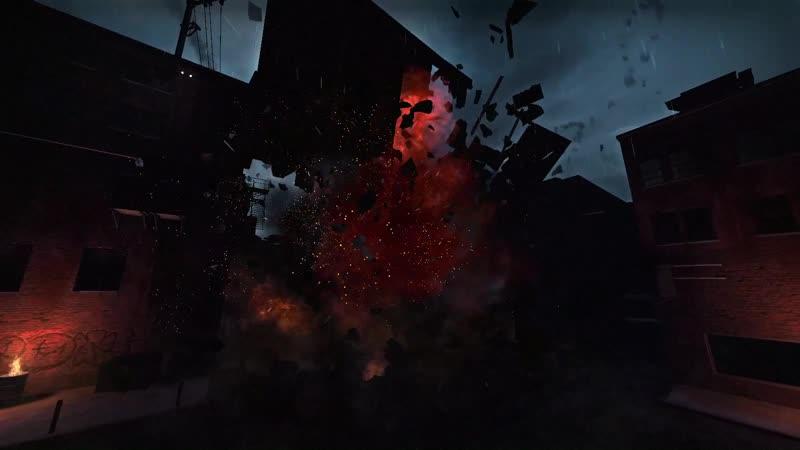 Взрыв бензоколонки