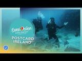 Postcard of Ryan OShaughnessy from Ireland - Eurovision 2018