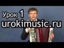 Игра на аккордеоне самоучитель уроки аккордеона школа