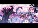 Bloom Nobly, Ink-black Cherry Blossom ~ Border of Life (Yuyuko Saigyouji's Theme)
