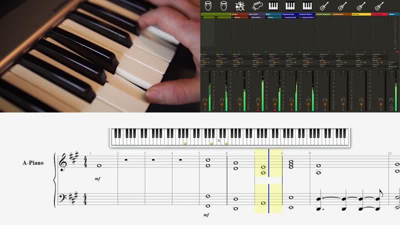 Linkin Park Numb Guitar Keyboard Loop Cover