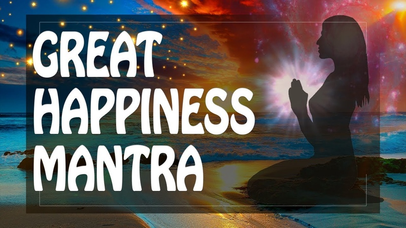 Mantra of Great Happiness Freedom Peace within