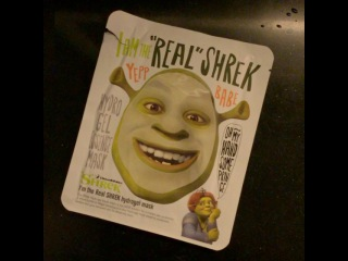 "Mitch Kim on Instagram: ""#shrek #facialpack U can be #Shrek whenever u want!"""