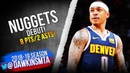 Isaiah Thomas Nuggets DEBUT 2019.02.13 vs Kings - 8 Pts in Injury RETURN! | FreeDawkins