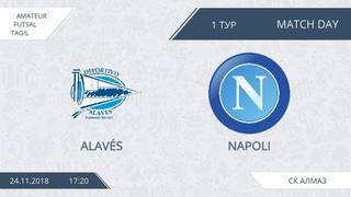 24.11.2018 Alaves-Napoli. Nizhny Tagil. Afl.