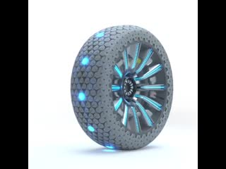 These tires transform and adapt to the road conditions