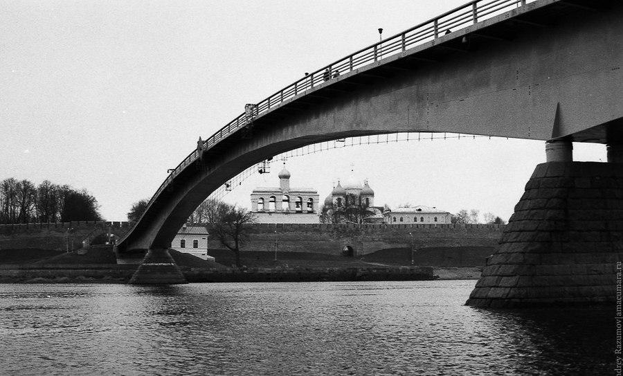 Великий Новгород осень Волхов Кремль