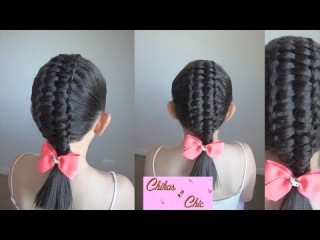 Double Passes Through Ribbon Braid