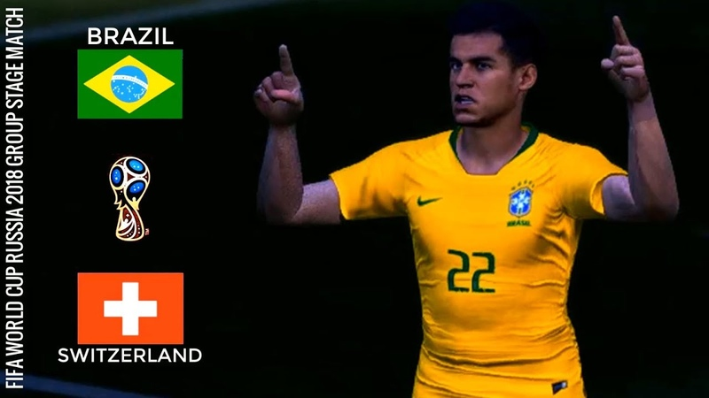 Brazil vs Switzerland | World Cup 2018 Group Stage Match | Coutinho's Goal
