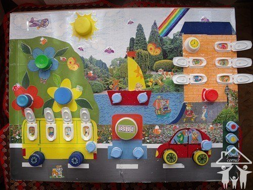 Развивающие игры для детей от 1 года до 3 лет своими руками