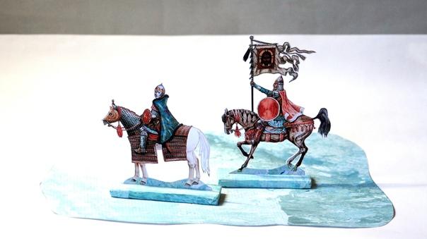 ПОБОИЩЕ. Апрель 1242 года. с друзьями диораму битвы. Предлагаю Вашему эскизы будущего сражения. окончательном варианте будет немецкий клин, и наша и конные полки согласно расстановке. быть и